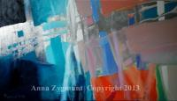 Anna Zygmunt Art - Abstract Discovery 3 Year 2012 - Oil On Canvas