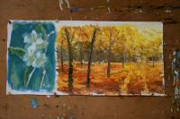 Wwwrybakowcom - Plenair-Painting Autumn Park 215 Oil On Canvas 25X38Cm 20 - Oil On Canvas