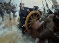The Great Steering - Oil On Canvas Paintings - By Yury Kushevsky, Classical Realizm Painting Artist
