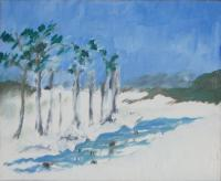 Oil Paintings - Winter - Oil On Panel