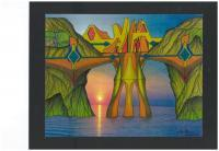 Add New Collection - Sunset Wonder - Colored Pencil  Ink