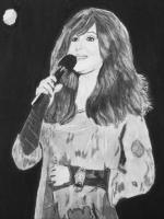People - Cher In Concert - Charcoal