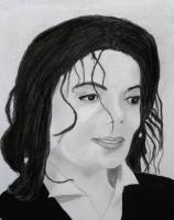 People - Michael Jackson - Charcoal And Graphite