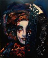 Oils - Queen Of Darkness - Oil On Canvas
