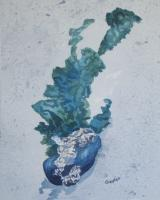 Beach - The Mermaids Flowers - Watercolor