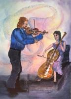 Figurative - Celtic Fusion - Watercolor