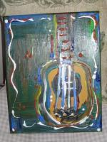 Vaughnart - Guitar Art 2010 - Acrylic