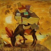 American Utopia - Glorious Precedent - Oil On Board