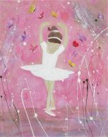 Ballet - Dance With Me - Acrylic Plaster Texture