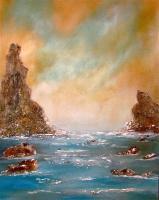 Seascape - - - Acrylic On Canvas