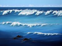 Seascapes - Deep Thrills - Acrylic
