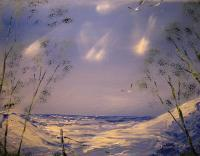 Seascapes - Seagulls - Oil On Canvas