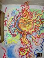 New Collection - Sun Of Man - Acrylic Pastels Ect
