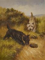 Animals - Dogs - Oil On Canvas