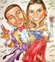 Well-Meant Caricature - Wedding - Mix