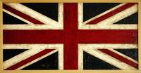 Tabla - Union Jack - Oil On Canvas