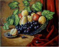 Fruits - Fruits - Oil On Canvas
