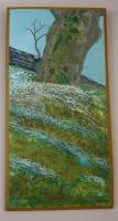 Private - Dunstaffnage Tree - Oil Stretched Canvas