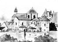 French Castel - Pencil On Paper - Drawings - By Massimo Franzoni, Realism Drawing Artist