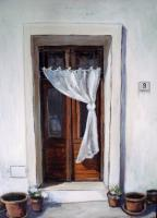 Pisticci - My Studio Door - Acrylic