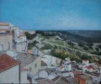 Pisticci - View From Pisticci - Acrylic