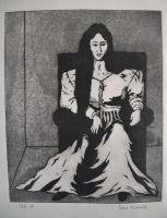 Prints - The Woman - Ink