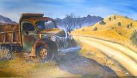 Vehicles - Rustic Memories - Acrylic