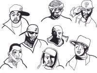 Will Ie 2 - Faces Of Hip Hop 2 - Pencil  Paper