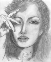 Actress - Jolie - Pencil  Paper