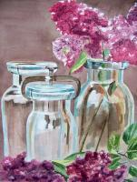 Floral - Lilac Season - Watercolor