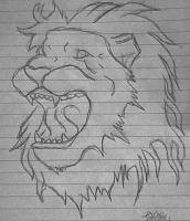 Drawing - Lion - Pencil