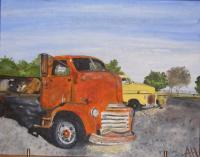 Vehicles - Old Trucks - Oil