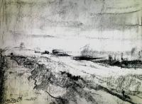 Landscapes - Dutch Landscape I - Graphite