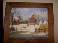 Winter Scenes - Peaceful Morn - Acrylic