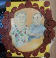 My Art - Grandparents - Acrylic