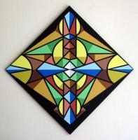 Abstract Geometric - Changing Seasons - Acrylic On Canvas