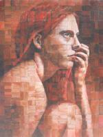 Engaging The Intellect - Acrylic Paintings - By Anita Dewitt, Figurative Paintings Painting Artist