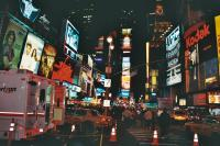 Busy In New York - Film Photography - By Kacie Piscatelli, Film Photography Photography Artist