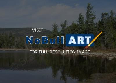 Landscape Photography - Lake Near The Kancamagus Highway Nh - Digital