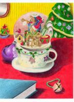 Drawings - Christmastime - Colored Pencil