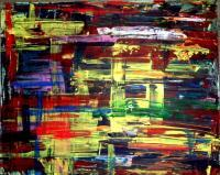 Abstract Expressionism - No Name - Acrylics
