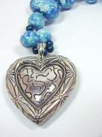 Art Jewelry - Reflections - Polymer Clay