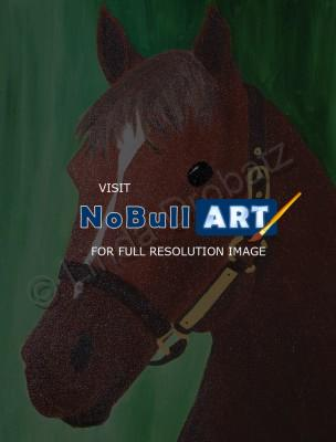 Drawings - Secretariat - Oil