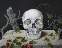 Vanitas - Vanitas - Oil On Wood