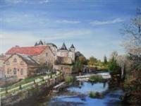 Historic Places - Vertuil - Oil