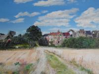 Philslandscapes - Leiston Abbey - Oil