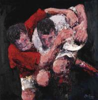 Feel The Passion Collection - The Force Rugby Prints - Oil