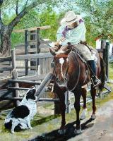 Western - So Whats The Plan - Acrylic