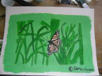 Animals - Monarch Butterfly - Acrylics