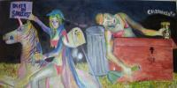 Painting - Death Of Sobriety - Acrylic